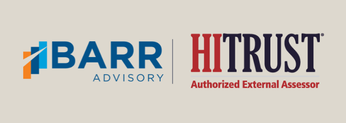 BARR presented at a recent HITRUST CEP event